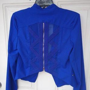 Jackets & Blazers - Royal Blue Blazer